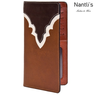 TM-41744 Porta-chequeras de piel Mayoreo Wholesale Leather Checkbook Holders Nantlis Tradicion de Mexico