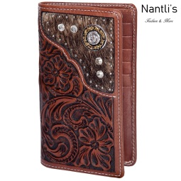 TM-41758 Porta-chequeras de piel cincelada Mayoreo Wholesale chiseled Leather Checkbook Holders Nantlis Tradicion de Mexico