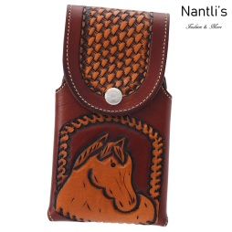 TM-41813 Fundas de piel grabadas para celular Mayoreo Wholesale engraved Leather Cell phone cases Nantlis Tradicion de Mexico
