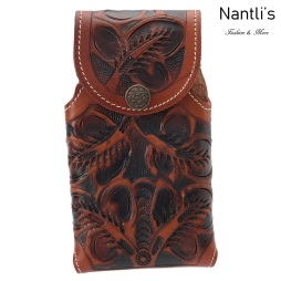 TM-41817 Fundas de piel grabadas para celular Mayoreo Wholesale engraved Leather Cell phone cases Nantlis Tradicion de Mexico