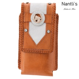 TM-48130 Fundas de piel para celular Mayoreo Wholesale Leather Cell phone cases Nantlis Tradicion de Mexico