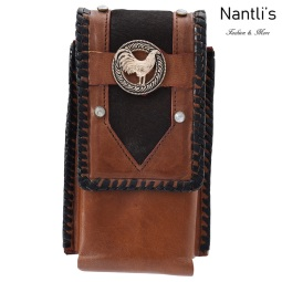TM-48132 Fundas de piel para celular Mayoreo Wholesale Leather Cell phone cases Nantlis Tradicion de Mexico