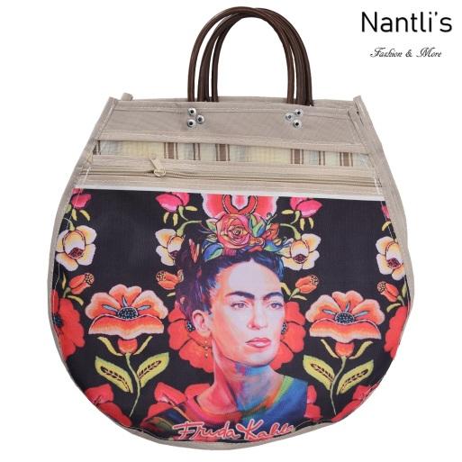 TM-90241 Bolsa Tradicional Mexicana Frida kahlo Mayoreo Wholesale Mexican Tote Bag Nantlis Tradicion de Mexico