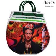 TM-90242 Bolsa Tradicional Mexicana Frida kahlo Mayoreo Wholesale Mexican Tote Bag Nantlis Tradicion de Mexico