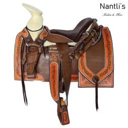 TM-62116 Silla de montar para caballo montura charra mayoreo wholesale Mexican horse Saddle Nantlis Tradicion de Mexico