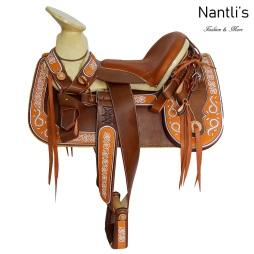 TM-62240 Silla de montar para caballo montura charra mayoreo wholesale Mexican horse Saddle Nantlis Tradicion de Mexico