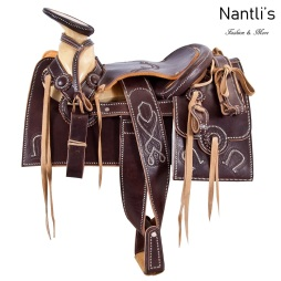 TM-63412 Silla de montar para caballo montura charra mayoreo wholesale Mexican horse Saddle Nantlis Tradicion de Mexico