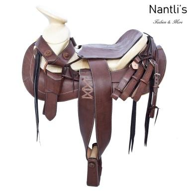 TM-65115 Silla de montar para caballo montura charra mayoreo wholesale Mexican horse Saddle Nantlis Tradicion de Mexico