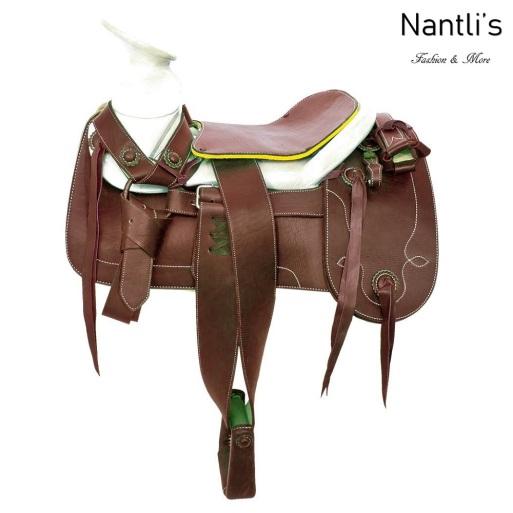 TM-65215 Silla de montar para caballo montura charra mayoreo wholesale Mexican horse Saddle Nantlis Tradicion de Mexico