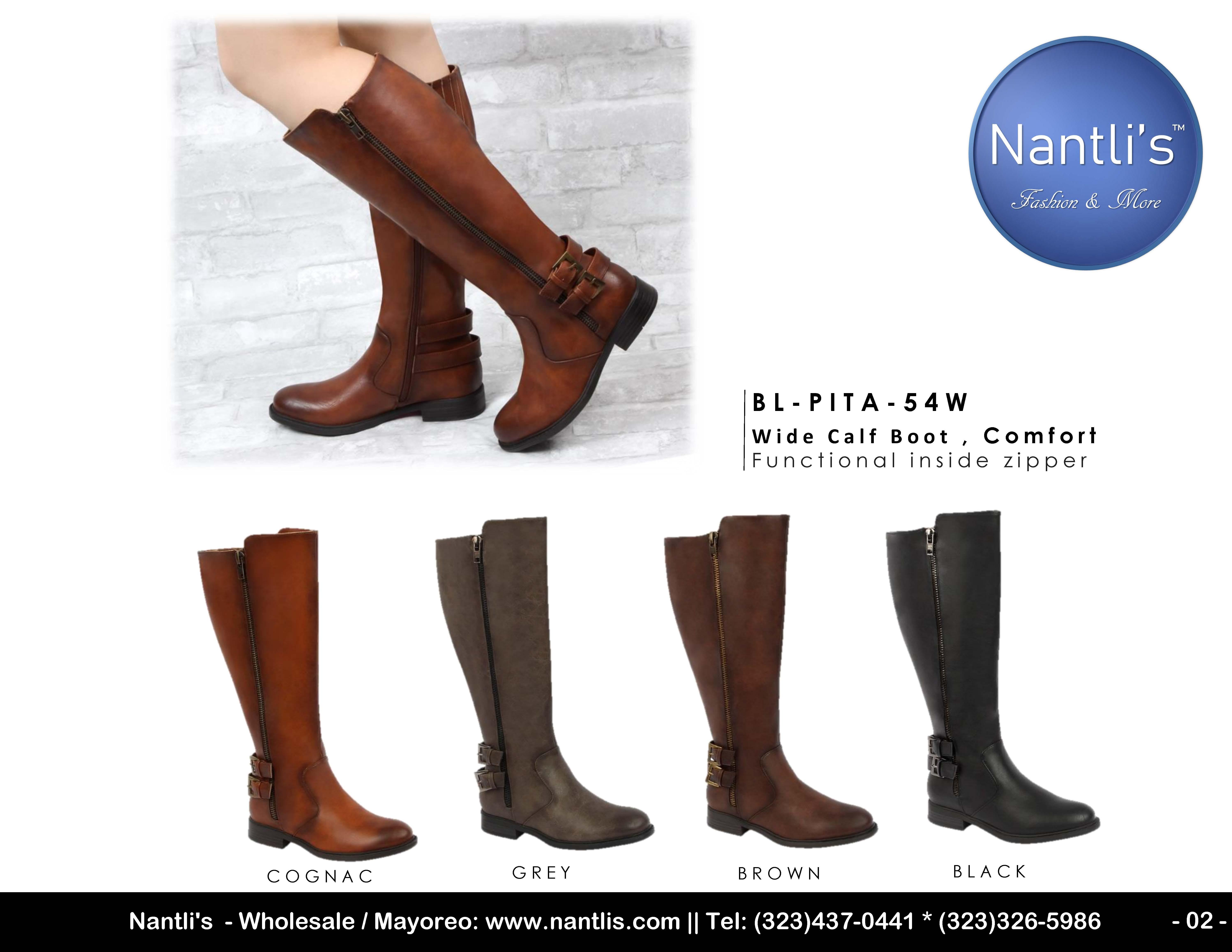 Nantlis Vol BL39 Botas de Mujer mayoreo Catalogo Wholesale womens Boots_Page_02