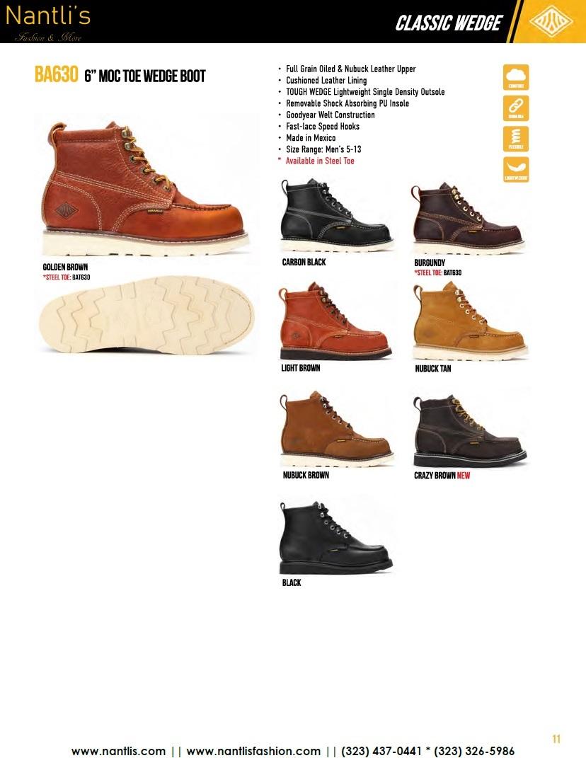 Nantlis vol BA12 botas de trabajo mayoreo catalogo Wholesale Work boots_Page_11
