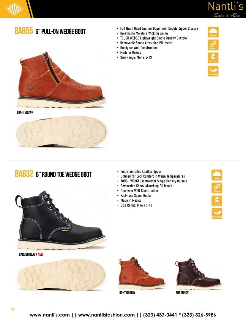 Nantlis vol BA12 botas de trabajo mayoreo catalogo Wholesale Work boots_Page_12