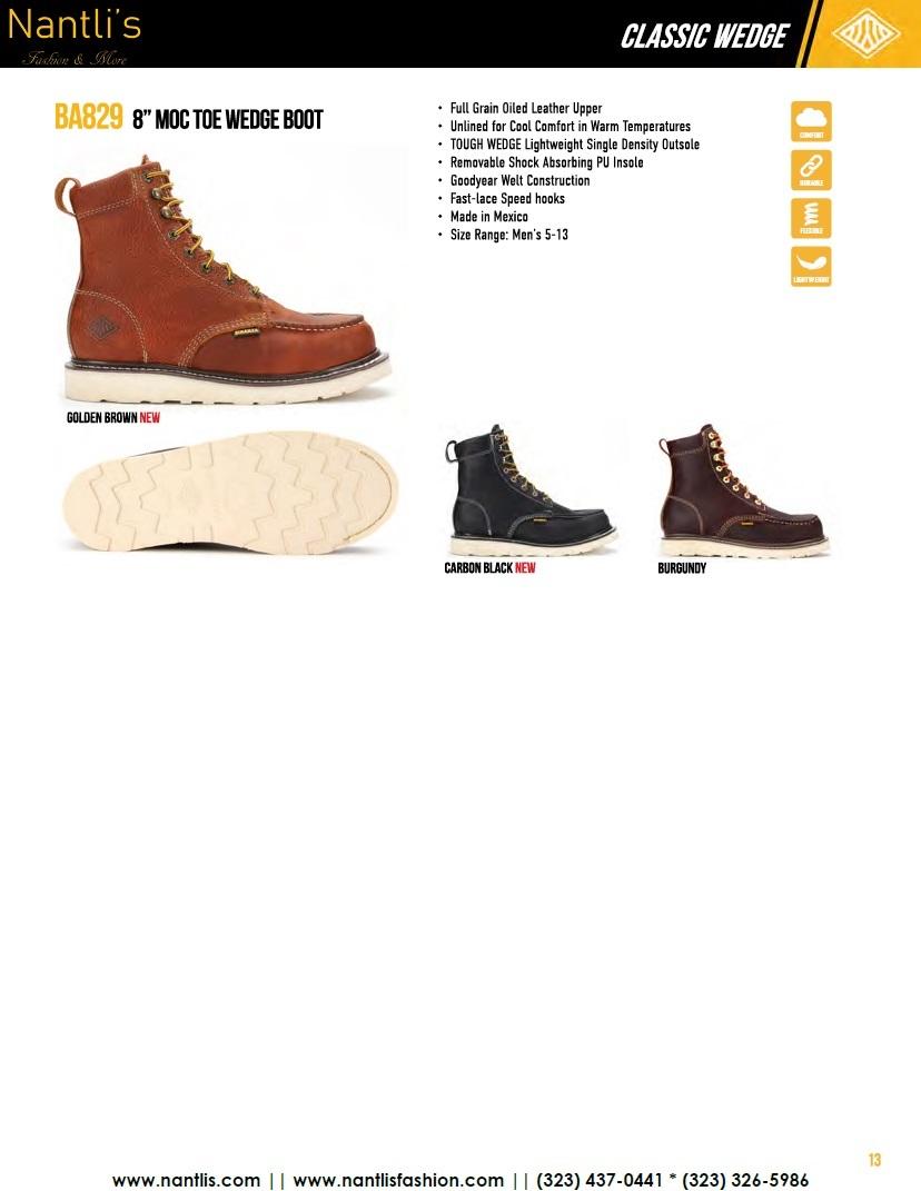 Nantlis vol BA12 botas de trabajo mayoreo catalogo Wholesale Work boots_Page_13