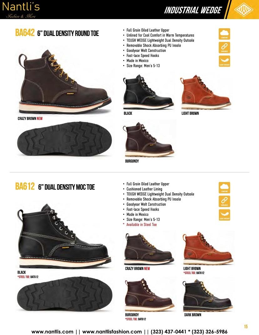Nantlis vol BA12 botas de trabajo mayoreo catalogo Wholesale Work boots_Page_15