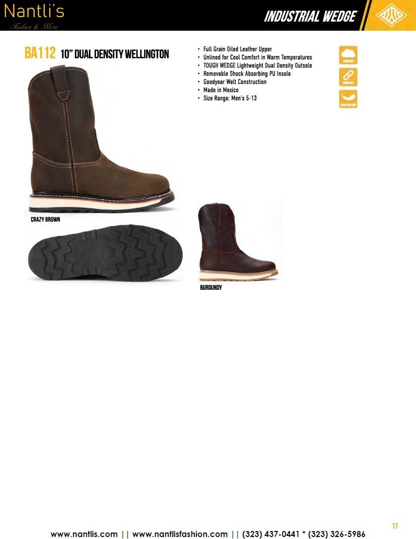 Nantlis vol BA12 botas de trabajo mayoreo catalogo Wholesale Work boots_Page_17