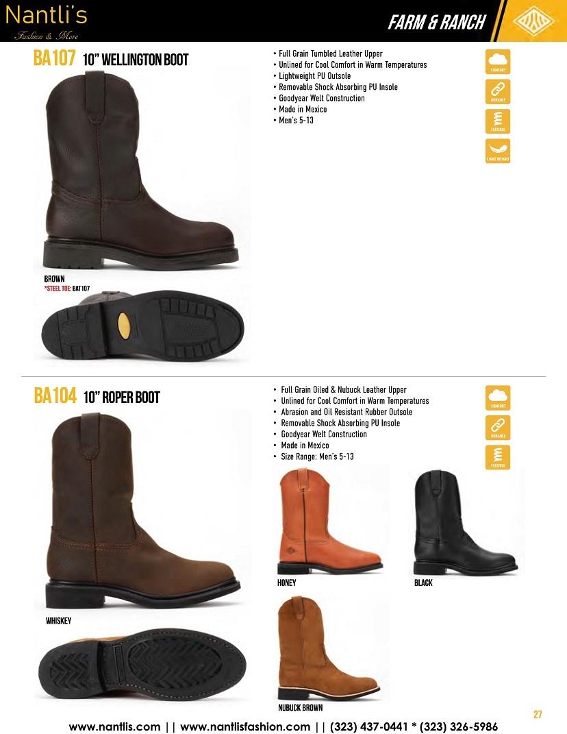 Nantlis vol BA12 botas de trabajo mayoreo catalogo Wholesale Work boots_Page_27