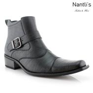Botas para Hombre FA-ALEJANDRO Black Mayoreo Wholesale Men's Fashion Boots Nantlis