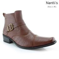 Botas para Hombre FA-ALEJANDRO Brown Mayoreo Wholesale Men's Fashion Boots Nantlis