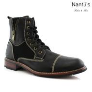 Botas para Hombre FA-ANDY Black Mayoreo Wholesale Men's Fashion Boots Nantlis
