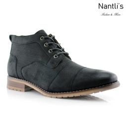 Botas para Hombre FA-BLAINE Black Mayoreo Wholesale Men's Fashion Boots Nantlis