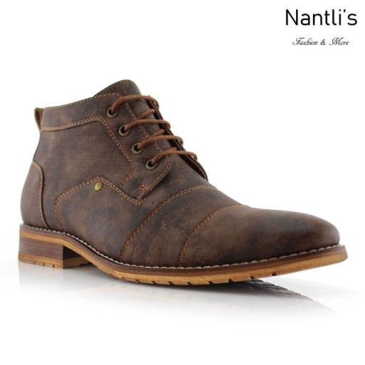 Botas para Hombre FA-BLAINE Brown Mayoreo Wholesale Men's Fashion Boots Nantlis