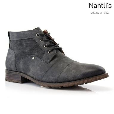 Botas para Hombre FA-BLAINE Charcoal Mayoreo Wholesale Men's Fashion Boots Nantlis