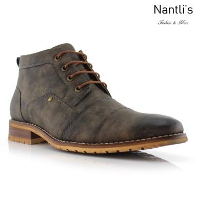 Botas para Hombre FA-BLAINE Grey Mayoreo Wholesale Men's Fashion Boots Nantlis