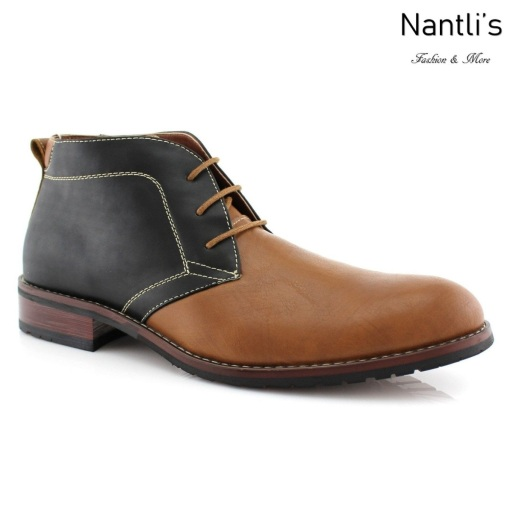 Botas para Hombre FA-COLE Brown Mayoreo Wholesale Men's Fashion Boots Nantlis