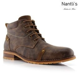 Botas para Hombre FA-COLIN Brown Mayoreo Wholesale Men's Fashion Boots Nantlis