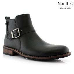 Botas para Hombre FA-DALTON Black Mayoreo Wholesale Men's Fashion Boots Nantlis