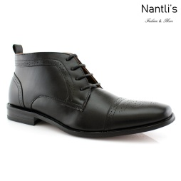 Botas para Hombre FA-HARVEY Black Mayoreo Wholesale Men's Fashion Boots Nantlis