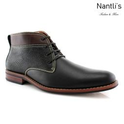 Botas para Hombre FA-MARK Black Mayoreo Wholesale Men's Fashion Boots Nantlis