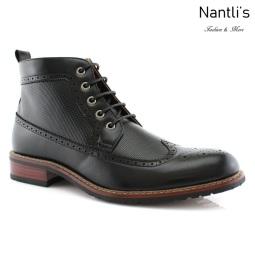 Botas para Hombre FA-MICHAEL Black Mayoreo Wholesale Men's Fashion Boots Nantlis