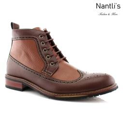 Botas para Hombre FA-MICHAEL Brown Mayoreo Wholesale Men's Fashion Boots Nantlis