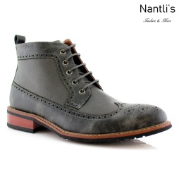 Botas para Hombre FA-MICHAEL Grey Mayoreo Wholesale Men's Fashion Boots Nantlis