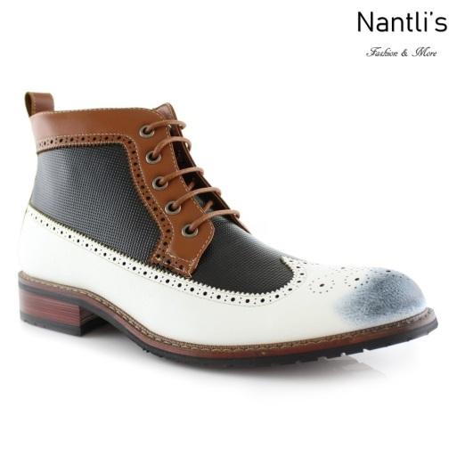Botas para Hombre FA-MICHAEL White Mayoreo Wholesale Men's Fashion Boots Nantlis