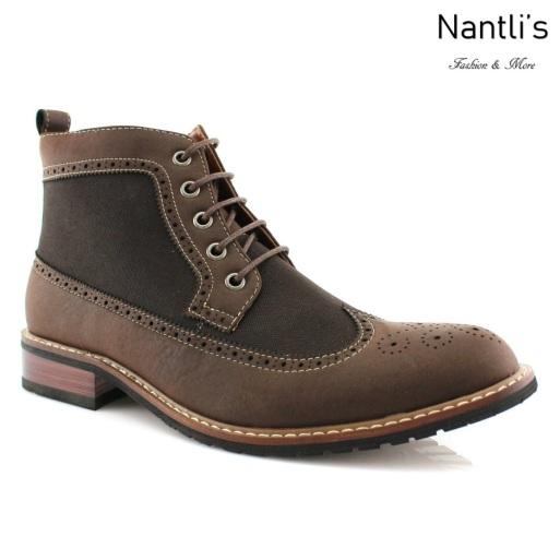 Botas para Hombre FA-MYLES Dark Brown Mayoreo Wholesale Men's Fashion Boots Nantlis
