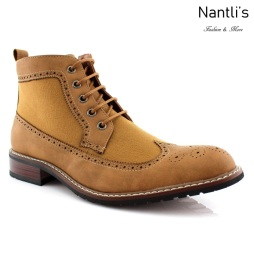 Botas para Hombre FA-MYLES Light Brown Mayoreo Wholesale Men's Fashion Boots Nantlis