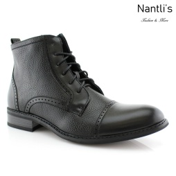 Botas para Hombre FA-PARKER Black Mayoreo Wholesale Men's Fashion Boots Nantlis