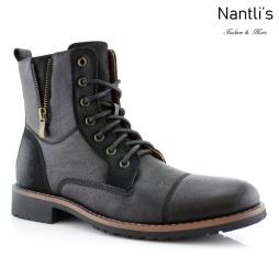 Botas para Hombre FA-REID Black Mayoreo Wholesale Men's Fashion Boots Nantlis