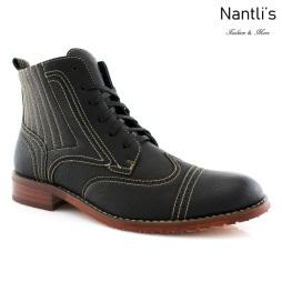 Botas para Hombre FA-ROMAN Black Mayoreo Wholesale Men's Fashion Boots Nantlis