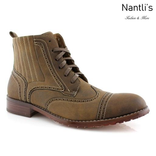 Botas para Hombre FA-ROMAN Brown Camel Mayoreo Wholesale Men's Fashion Boots Nantlis