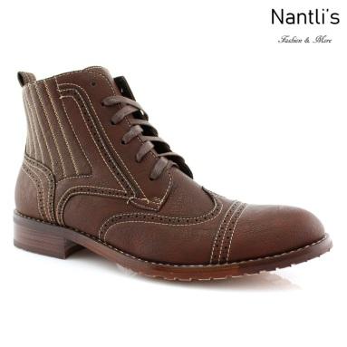 Botas para Hombre FA-ROMAN Dark Brown Mayoreo Wholesale Men's Fashion Boots Nantlis
