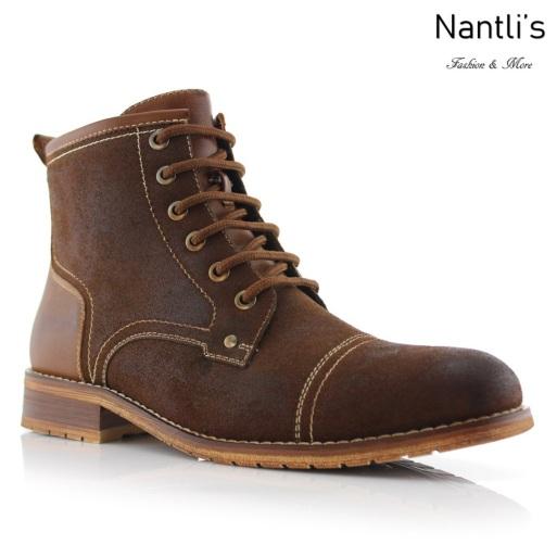 Botas para Hombre FA-RUFUS Brown Mayoreo Wholesale Men's Fashion Boots Nantlis