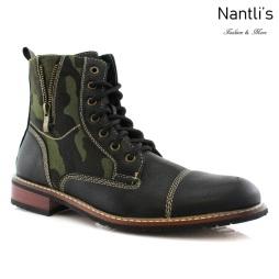 Botas para Hombre FA-RYDER Black Mayoreo Wholesale Men's Fashion Boots Nantlis
