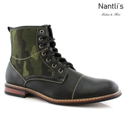 Botas para Hombre FA-TROY Black Mayoreo Wholesale Men's Fashion Boots Nantlis