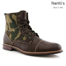 Botas para Hombre FA-TROY Brown Mayoreo Wholesale Men's Fashion Boots Nantlis