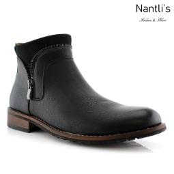 Botas para Hombre FA-WILLIE Black Mayoreo Wholesale Men's Fashion Boots Nantlis