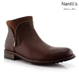 Botas para Hombre FA-WILLIE Brown Mayoreo Wholesale Men's Fashion Boots Nantlis