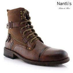 Botas para Hombre PF-ASHER Brown Mayoreo Wholesale Men's Fashion Boots Nantlis